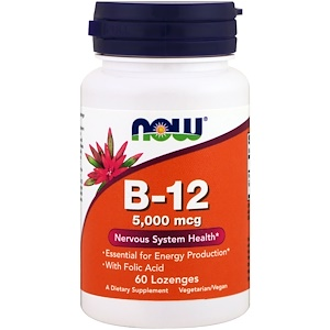 Now Foods, Vitamine B-12 Biotheek.com