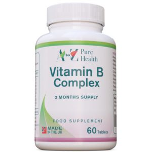 Vitamine B Complex, 60 tabletten | AtoZ Pure Health Biotheek.com