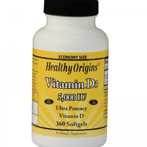 Vitamine D3, 5000 IU (360 Softgels) – Healthy Origins Biotheek.com Bigbizz.nl