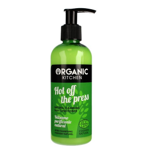"Haar Conditioner ""Hot off the Press"" ECOCERT COSMOS NATURAL – Organic Kitchen Biotheek.com"