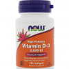Vitamine D3 2000IU 120 capsules Now Foods Biotheek.com