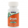 IRON, ijzer, 18 mg, 120 veg-capsules | Now Foods Biotheek.com