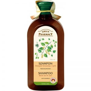 Green Pharmacy Berkenteer & Zinc Shampoo Anti-roos Shampoo 350 ml