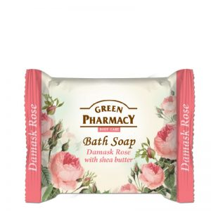 Green Pharmacy Damask Rose Bath Soap Zeep 100 gr