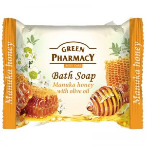 Green Pharmacy Manuka Honey Bath Soap Zeep 100 gr